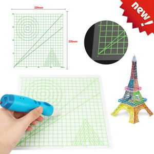 3D Druckstift Silikon geometrisches Zeichnungs Werkzeug entwerfen Matte für Kind