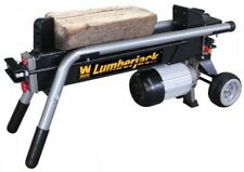 Electric Log Splitter Logs Stove Fire Wood Fireplace Fuel Timber Winter 6 Ton