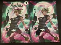 Archie and Sabrina #1 InHyuk Lee virgin variant set Comics 2019 NM 9.4 Unread