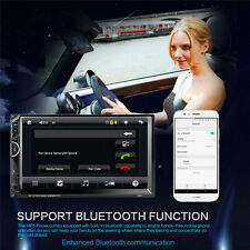 """7""""HD Double 2DIN Car Stereo MP5 Player Bluetooth Touchscreen MP5 FM Radio USB SD"""