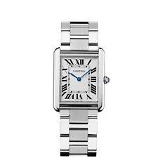 Cartier W5200014 Tank Solo Wrist Watch for Men - Stainless Steel