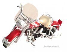 1/18 HARLEY DAVIDSON COLOR ROJO MAISTO MOTO BIKE DIECAST