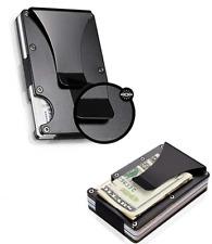 Metal Wallet Aviation Aluminum Wallet Light Slim Credit Card Holder Money Clip &