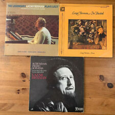 LOT 3 LAZAR BERMAN ULTRA CLEAN LPs - Schumann schubert Liszt In Recital