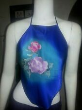 Halter Dry-clean Only 100% Silk Tops & Blouses for Women