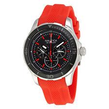 Nautica NST 10 Multi-Function Black Dial Mens Watch NAI13521G