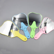 Dental Instruments Teeth Mirror Teeth Shape Mirror For Oral Examination Random