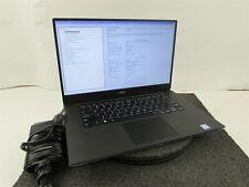 """New listing Dell Precision 5530 15.6"""" Intel i7-8850H 1Tb Ssd 16Gb Ram Quadro P1000 W10P"""