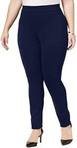 Style&Co Women's Seamed Ponte Leggings, Blue/Green/Gray/Plum/Brown Plus Sizes