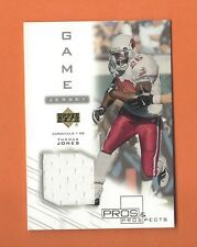 2001 PROS AND PROSPECTS THOMAS JONES GAME-USED JERSEY #TJ-J  CARDINALS (A)