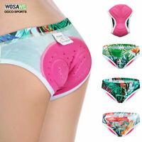 Women Cycling Shorts Laides Tringle Shorts Breathable Gel Pad MTB Bike Underwear