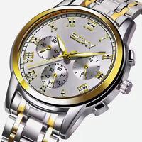 Mens Watch Relojes De Hombre Stainless Steel Quartz Driver Classic Watches Men's