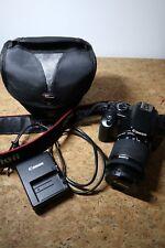 Canon EOS 450D reflex digitale +obiettivo EF-S 18-55mm+ custodia+caricabatteria