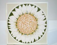 Siena Ceramic Tile Sunflower Made in Italy Ceramital Buonconvento 6x6""