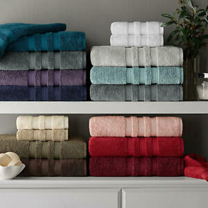 (3 Packs) Hotel Premier Collection Thick 100% Cotton Luxury 30x58 Bath Towel