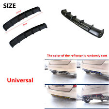 Universal Car Shark Style Added-on Rear Bumper Lip Diffuser Kit Protector Trim