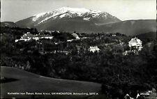 Grimmenstein Niederösterreich s/w AK ~1950/60 Heilstätte Rotes Kreuz Schneeberg