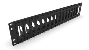 19 inch rack mount 2U for 16x RASPBERRY Pi FRONT REMOVABLE