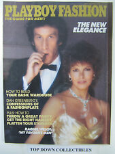 "Playboy MagazineFashion Guide For Men  1982  Raquel Welch ""My Favorite Men"""