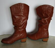 Ladies The Original MukLuks Saddle Up Cowgirl Boots Water Resistant Size 10 NWT