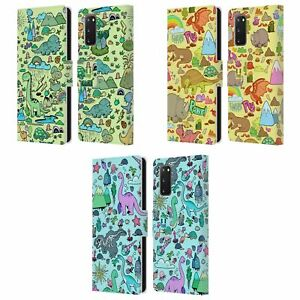 HEAD CASE PREHISTORIC PATTERNS LEATHER BOOK CASE & WALLPAPER FOR SAMSUNG 1