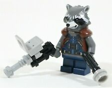 NEW LEGO MARVEL ROCKET RACCOON MINIFIGURE 76079 - GUARDIANS OF THE GALAXY VOL.2