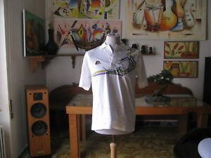 T.Shirt / Polo Tennis - Schwarzenbach Sport Und Tempslibre - Taille L - 1991