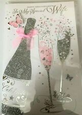 Wife Anniversary Card With Love Celebrations