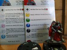 HeroClix Marvel Age of Ultron 055 Ultron Phalanx (a+b) Chase