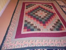 Nice Granny Square Pattern w/Frames Quilt
