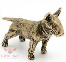 Bronze Figurine of Pit Bull Terrier dog