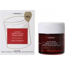 KORRES Wild Rose Natural Brightening & First Wrinkles Day Cream Dry Skin 60ml
