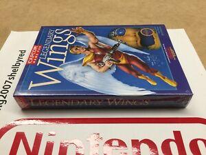 Capcom Legendary Wings Nes Nintendo New Factory Sealed NOS VGA WATA ??