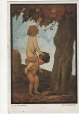 Zumbusch Der Zuendenfall Vintage German Art Postcard 302a