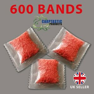 PELLET BAIT BANDS 600 PROFESSIONAL QUALITY BANDS FOR 3mm to 12mm BAITS