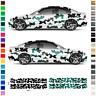 Universal Auto-Aufkleber, Folie, Design-Folierung Tuning Sticker, Tarnmuster