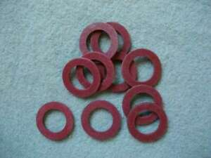 1/4 BSP FUEL TAP FIBRE WASHER WASHER PACK OF 10