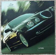 JAGUAR S TYPE LF Car Sales Brochure June 2001 #JLM/10/02/06/01 3.0 V6/SE-4.0 V8