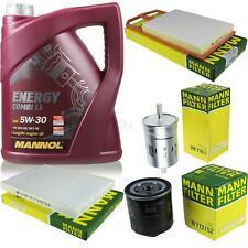 Motor-Öl 5L MANNOL 5W-30 Combi LL+MANN-FILTER Filterpaket Seat Leon 1M1 1.4 16V