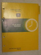 Original John Deere 2150 & 2255 Tractor Flat Rate Manual