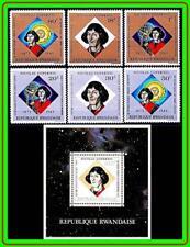 RWANDA 1973 COPERNICUS + S/S SC#565-715 MNH CV$10.00 SPACE ASTRONOMY (R-AL)