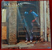 """EARLY/RARE! """"Bob Dylan"""" Hand Signed Album Cover Todd Mueller & PAAS COA's"""