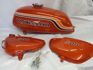 1972 Kawasaki H1 500 show quality tank and cover set  1972  H1B