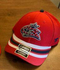 Columbus Blue Jackets Fanatics Authentic Pro Hat Red Nhl Nwt