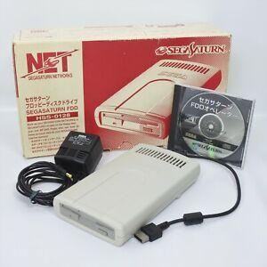Sega Saturn FDD Floppy Disc Drive HSS-0128 Boxed Tested JAPAN 1021