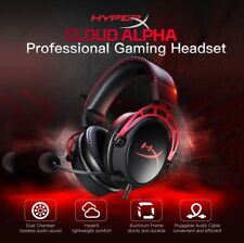 Kingston HyperX Cloud Alpha Pro Wired Gaming Headset For PC PS4 XBox One + Mic