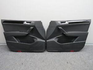 5TB867012 Original Türverkleidungen vorne links rechts schwarz VW Touran 5T