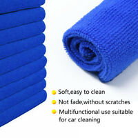 Lot Of 50x Microfibre Cleaning Auto Car Detailing Soft Cloths Wash Towel Duster