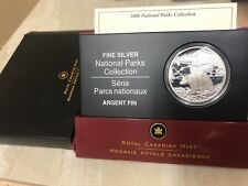 2006 Canadian National Parks Fine Silver Coin - Nahanni