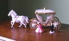 Vintage Wilton Cinderella Coach and Horses Cake Topper with Figures